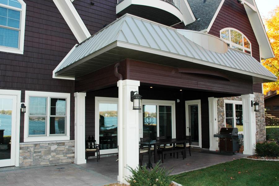 Rear Porch by Behr Design