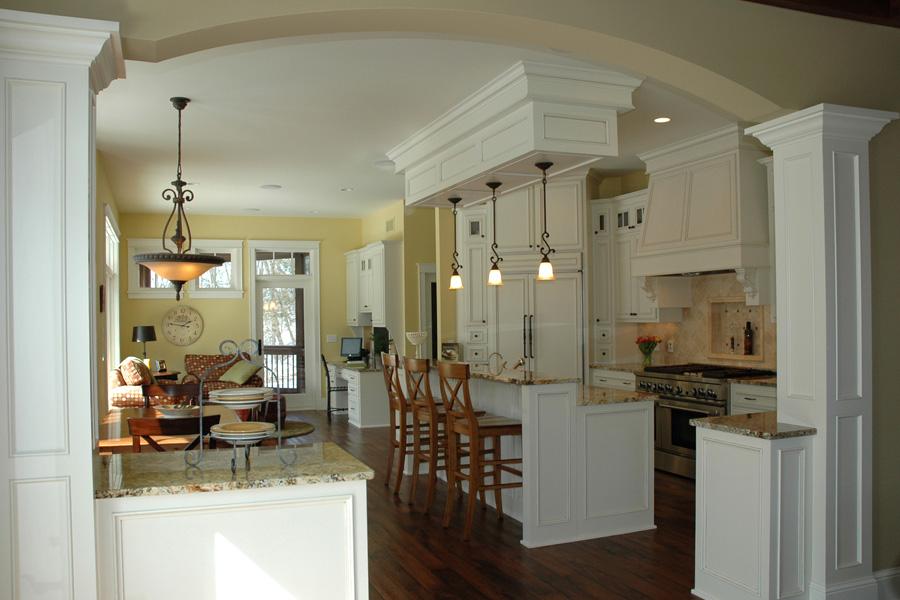 Luxury Kitchen Great Room by Behr Design